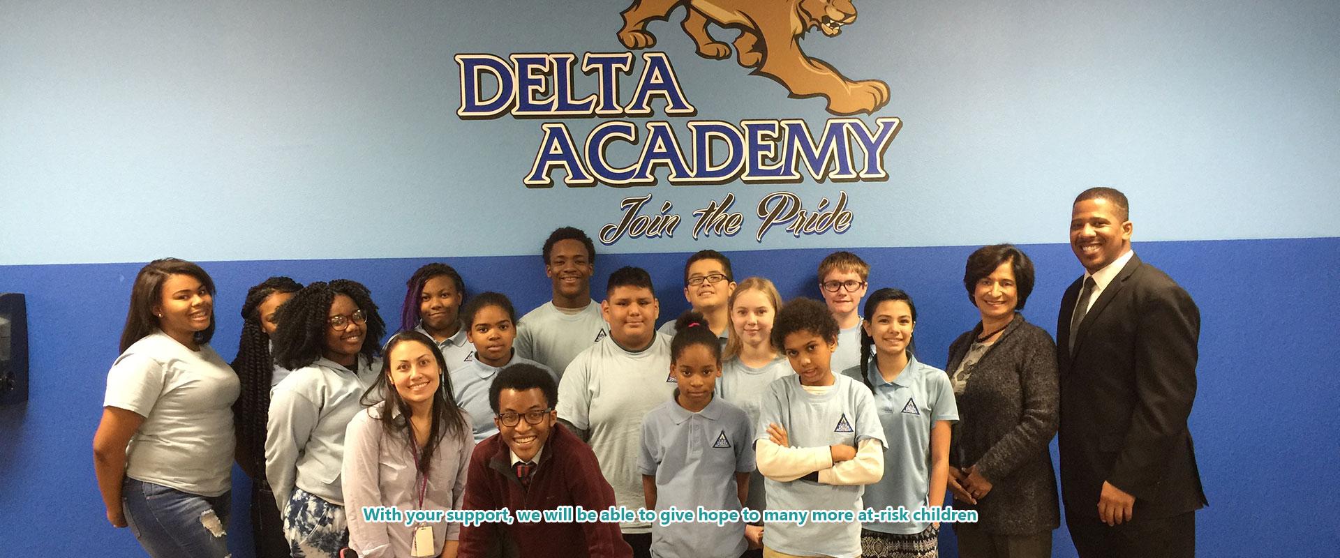 Delta Academy Students