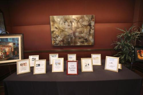 Live-Auction-Table